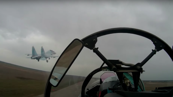 Las Fuerzas Aeroespaciales de Rusia se preparan para las 'Olimpiadas' militares - Sputnik Mundo