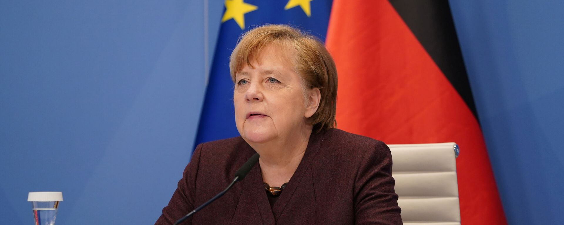 Angela Merkel, canciller alemana - Sputnik Mundo, 1920, 19.03.2021