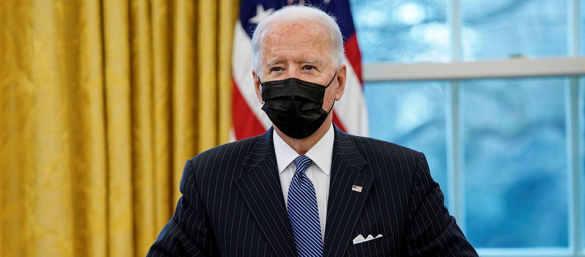 Joe Biden, presidente de EEUU  - Sputnik Mundo, 1920, 09.02.2021