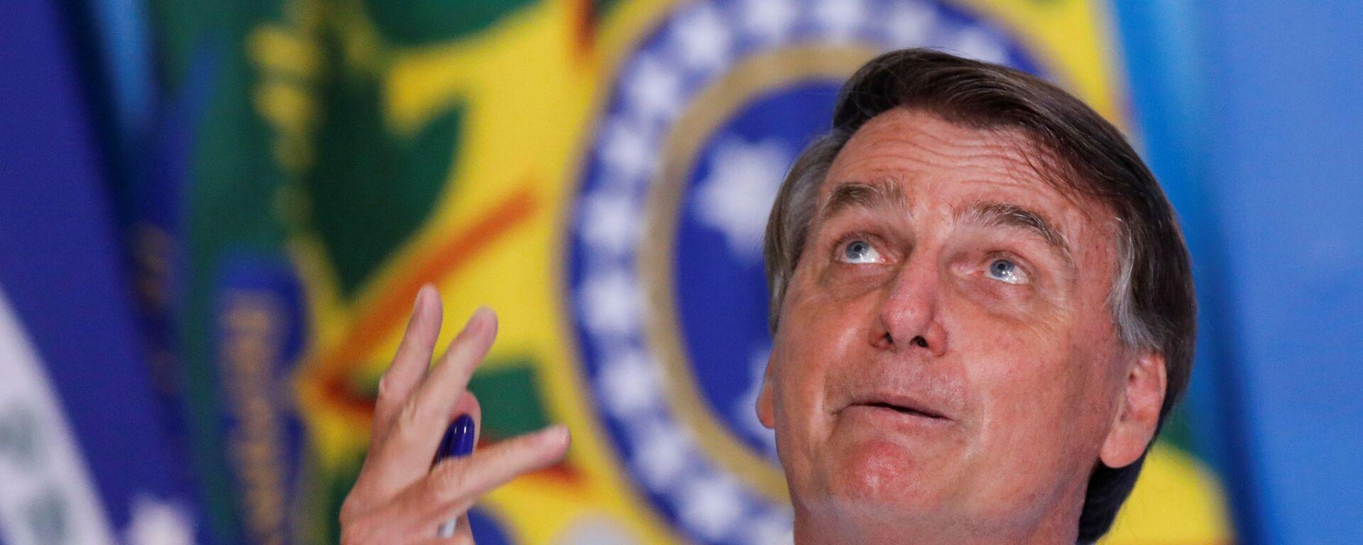 Jair Bolsonaro, presidente de Brasil - Sputnik Mundo, 1920, 26.01.2021