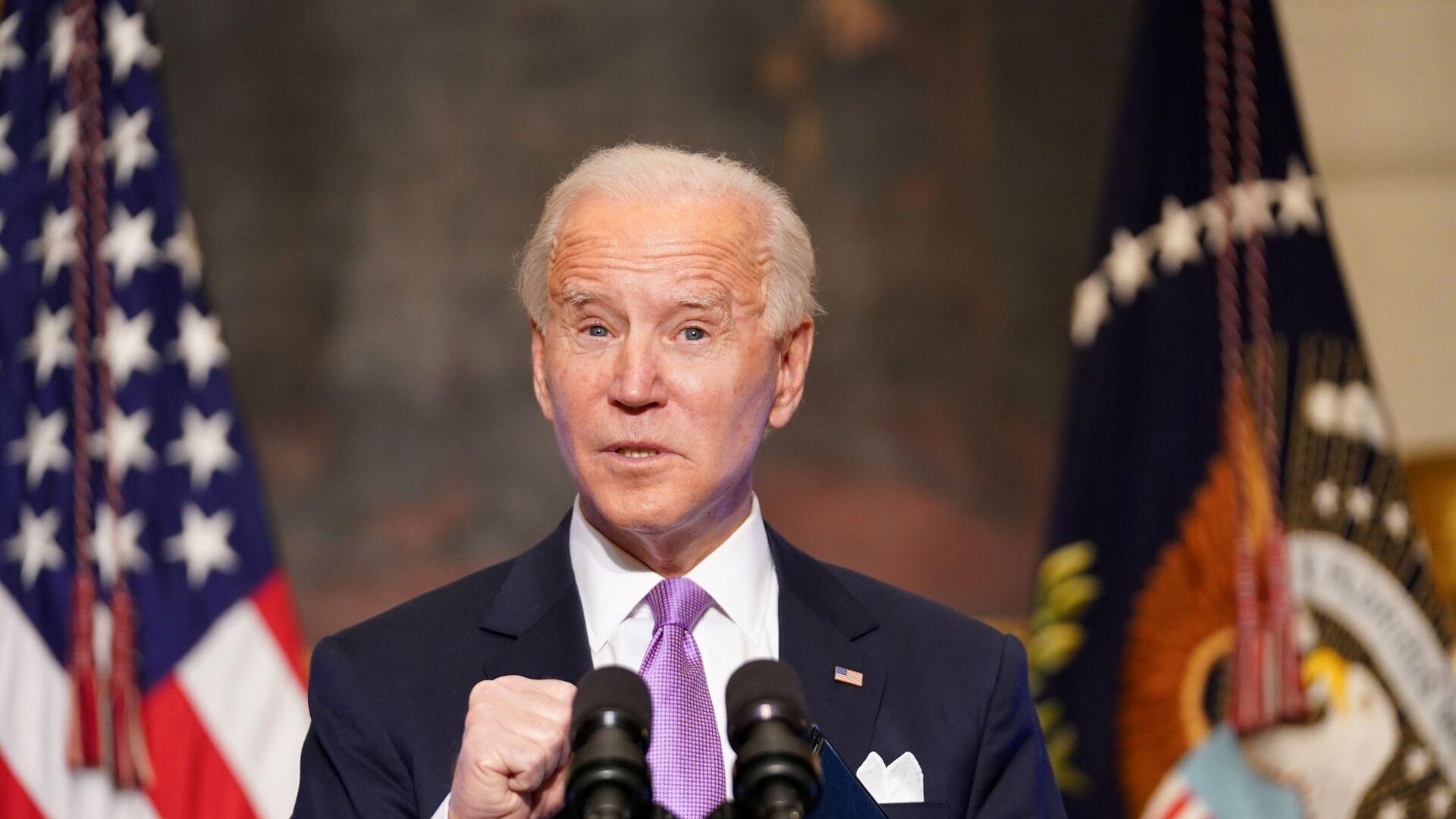Joe Biden, presidente de EEUU - Sputnik Mundo, 1920, 21.02.2021