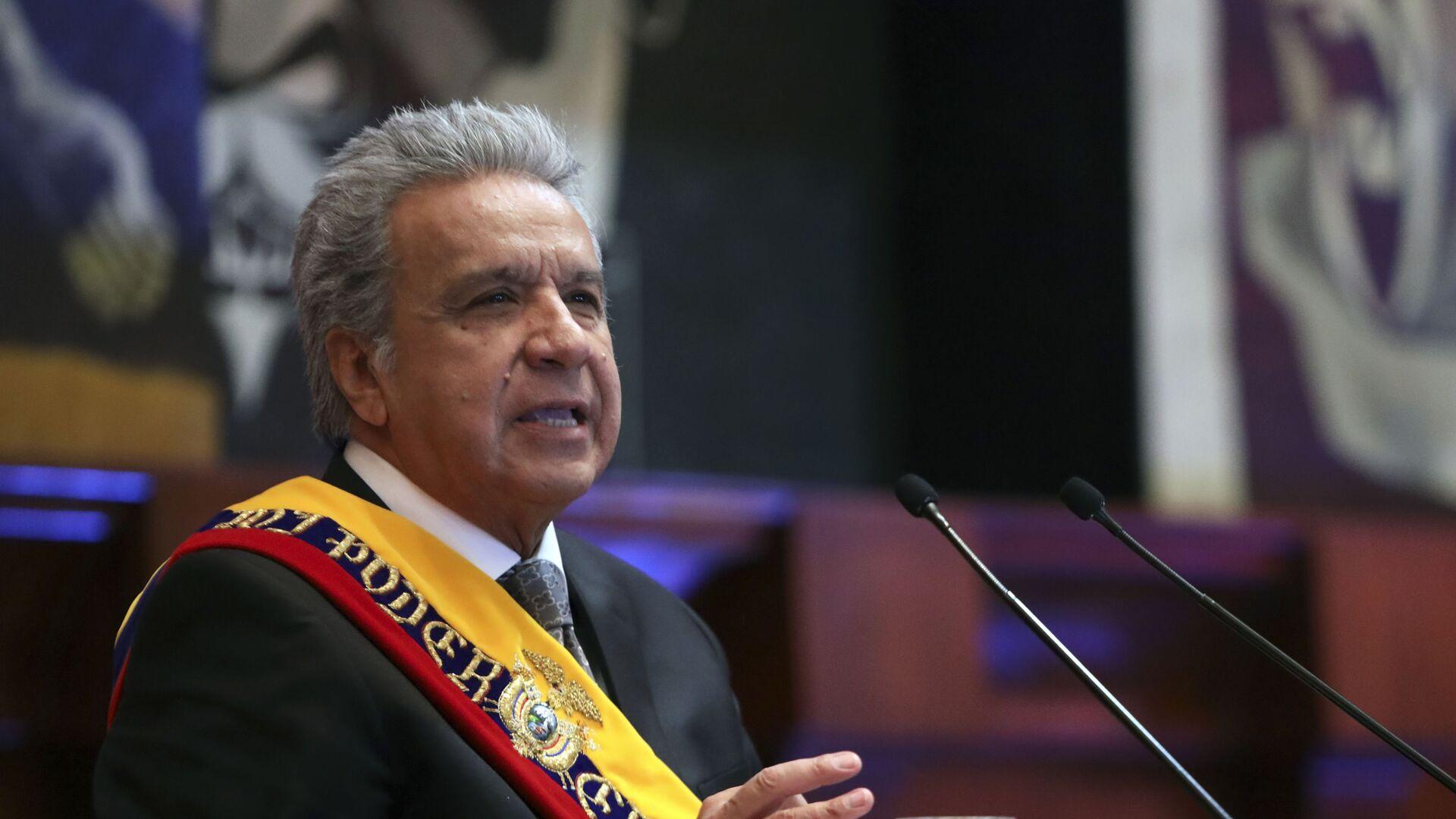 Lenín Moreno, presidente de Ecuador - Sputnik Mundo, 1920, 25.03.2021