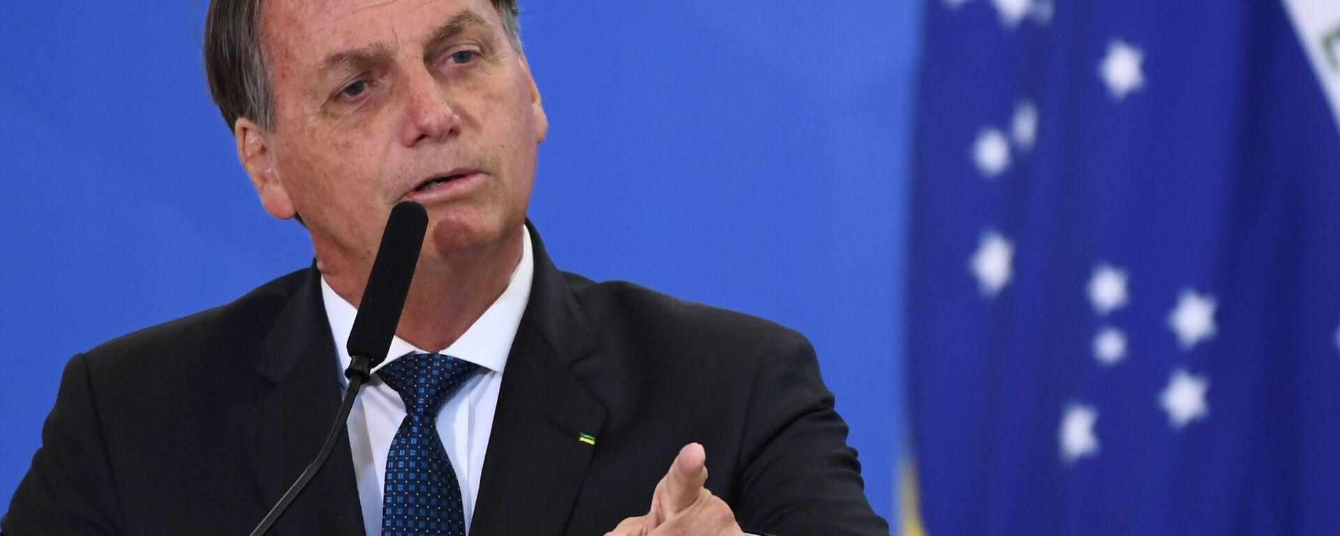 Jair Bolsonaro, presidente de Brasil - Sputnik Mundo, 1920, 08.02.2021