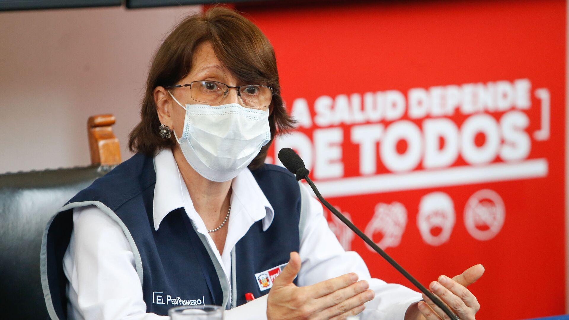 Pilar Mazzetti, ministra de Salud de Perú - Sputnik Mundo, 1920, 12.02.2021