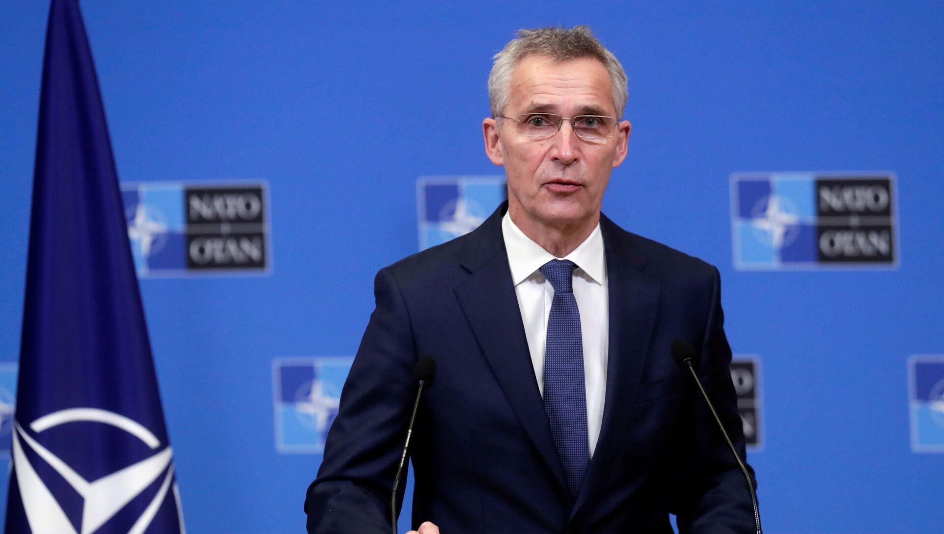 Jens Stoltenberg, secretario general de la OTAN - Sputnik Mundo, 1920, 09.02.2021
