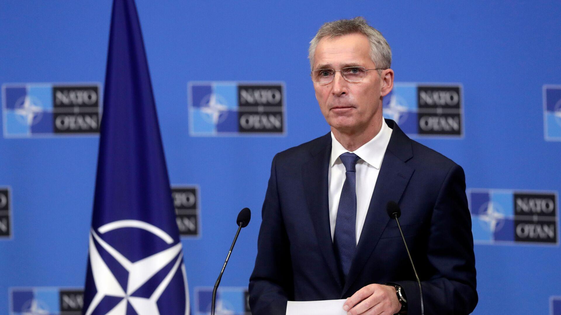 Jens Stoltenberg, secretario general de la OTAN - Sputnik Mundo, 1920, 17.02.2021