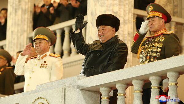 Kim Jong-un, líder de Corea del Norte - Sputnik Mundo