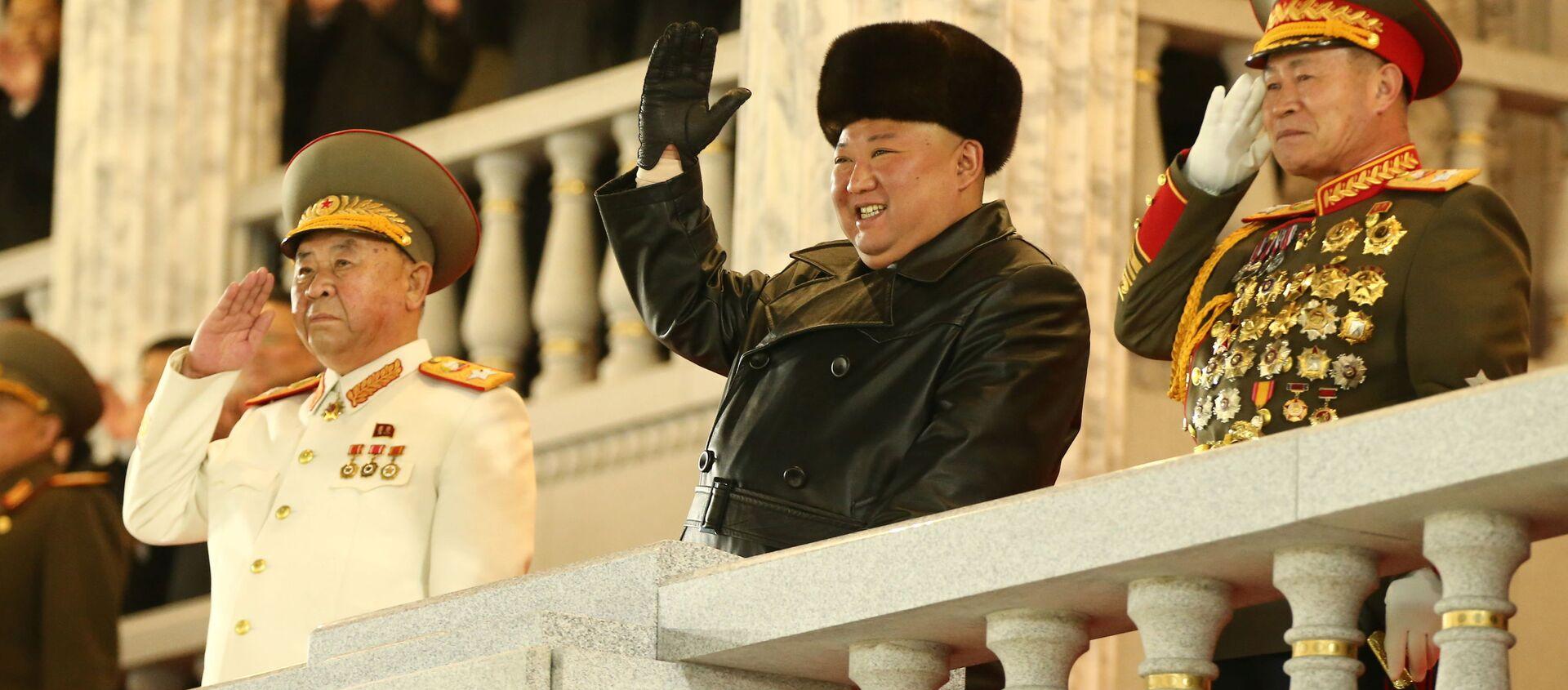 Kim Jong-un, líder de Corea del Norte - Sputnik Mundo, 1920, 28.01.2021