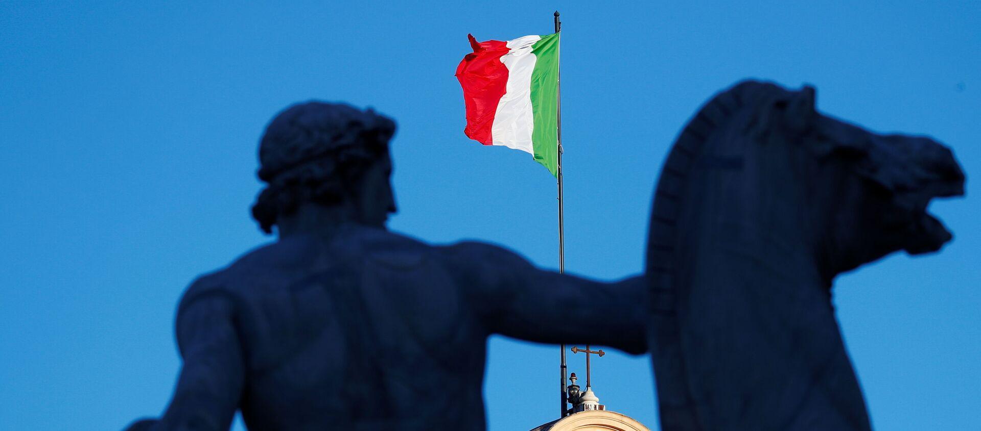 Bandera de Italia - Sputnik Mundo, 1920, 28.01.2021