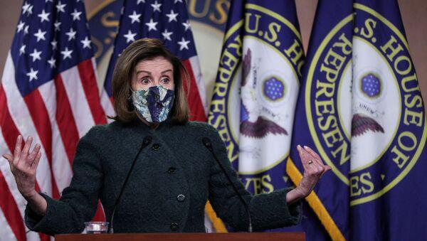 Nancy Pelosi, presidenta de la Cámara de Representantes de Estados Unidos - Sputnik Mundo
