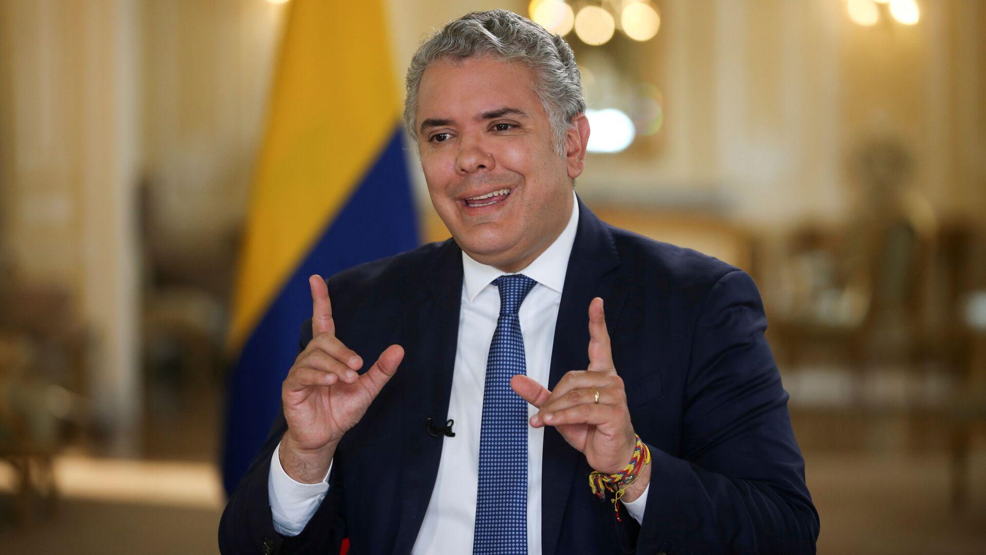 Iván Duque, presidente de Colombia - Sputnik Mundo, 1920, 30.09.2021