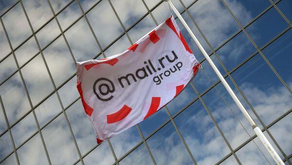 Bandera de Mail.ru Group - Sputnik Mundo