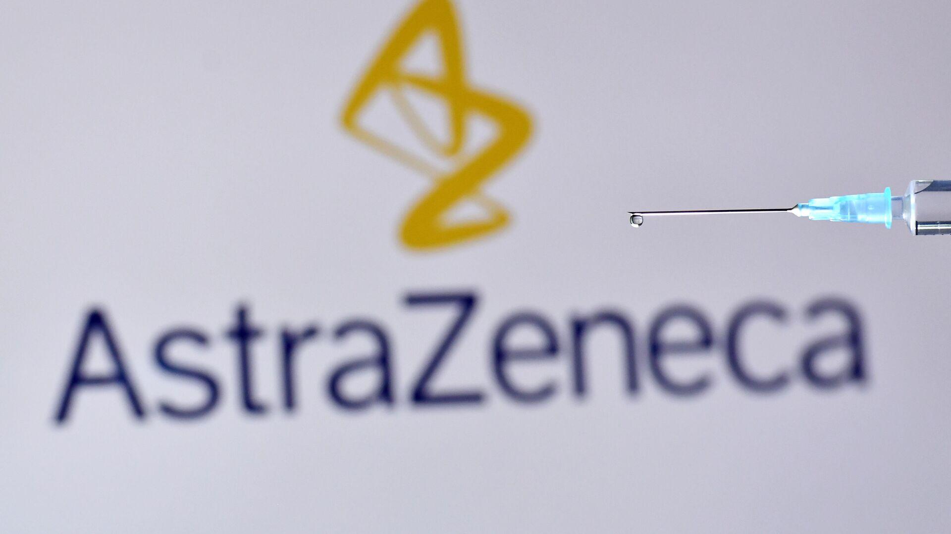 El logo de AstraZeneca - Sputnik Mundo, 1920, 01.02.2021