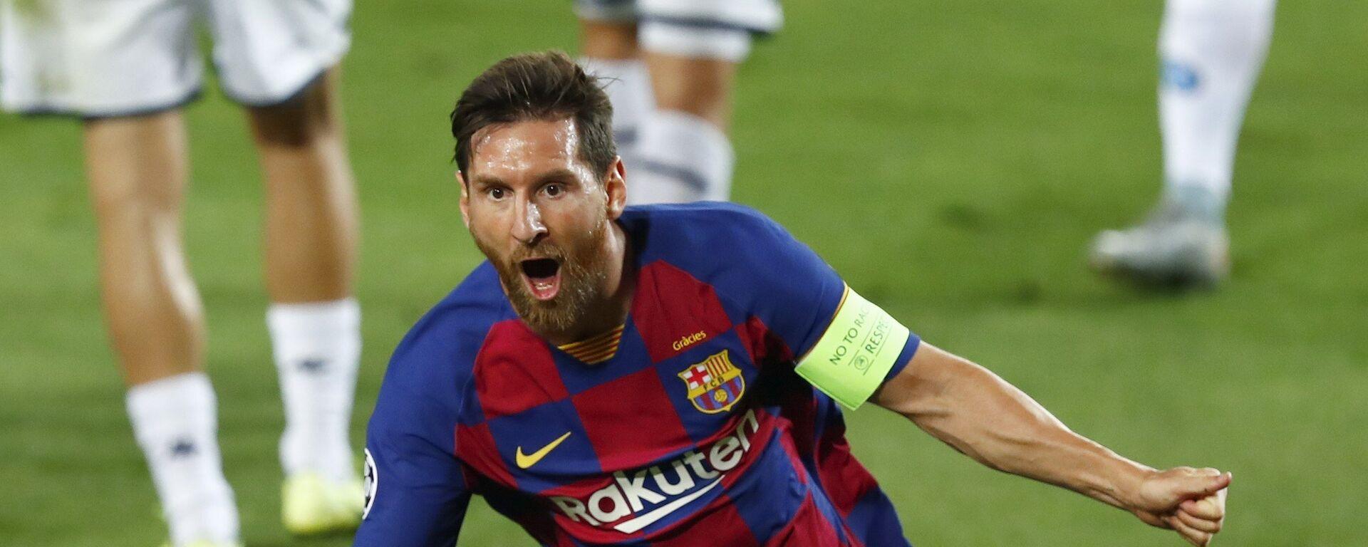 Leo Messi, futbolista argentino - Sputnik Mundo, 1920, 09.02.2021