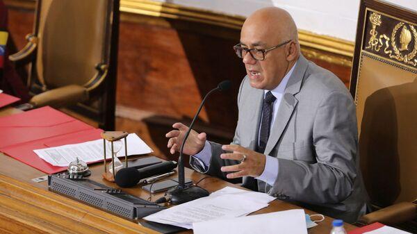 Jorge Rodríguez, presidente de la Asamblea Nacional de Venezuela - Sputnik Mundo