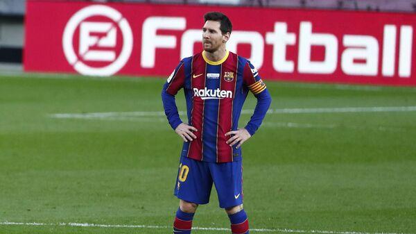 Leo Messi, futbolista argentino - Sputnik Mundo