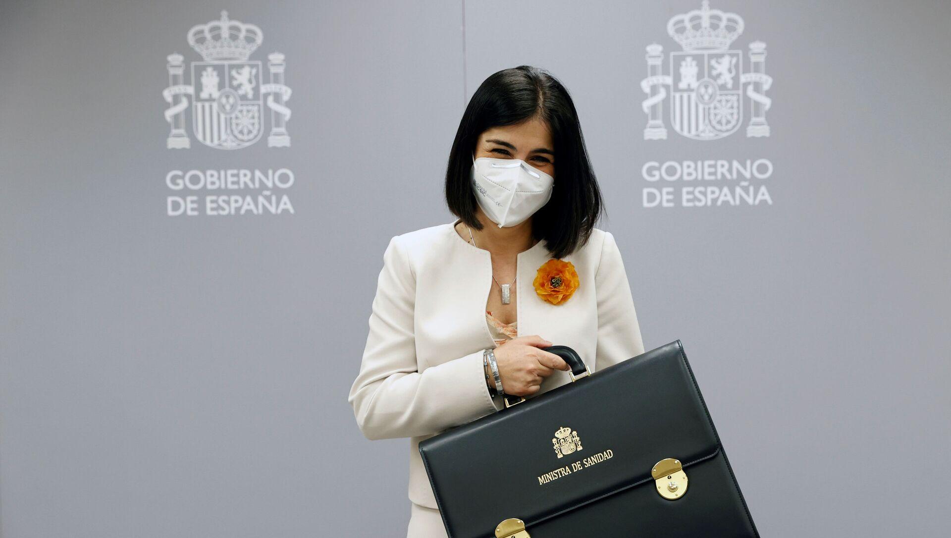 Carolina Darias, ministra de Sanidad de España - Sputnik Mundo, 1920, 03.02.2021