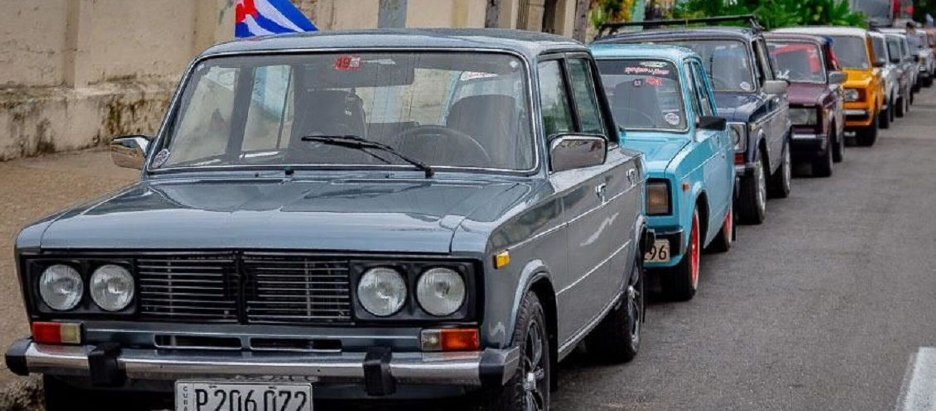 Autos soviéticos populares en Cuba - Sputnik Mundo, 1920, 01.02.2021