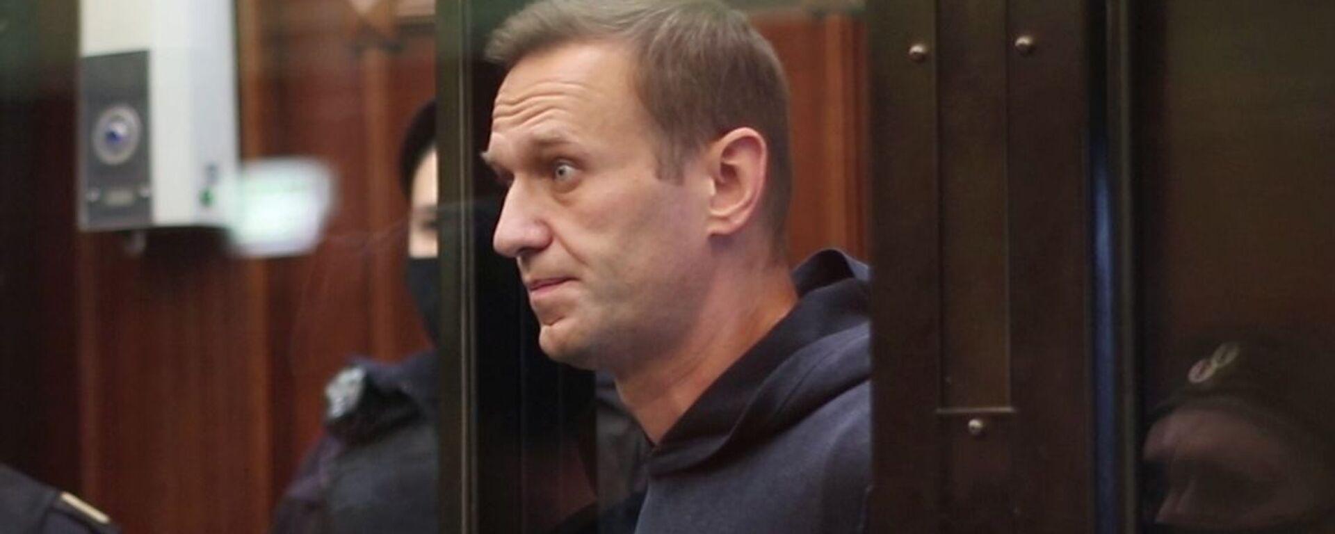 El bloguero opositor ruso, Alexéi Navalni - Sputnik Mundo, 1920, 05.02.2021