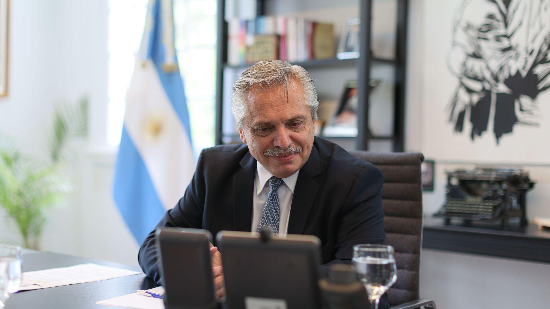 Alberto Fernández, presidente de Argentina - Sputnik Mundo, 1920, 19.02.2021