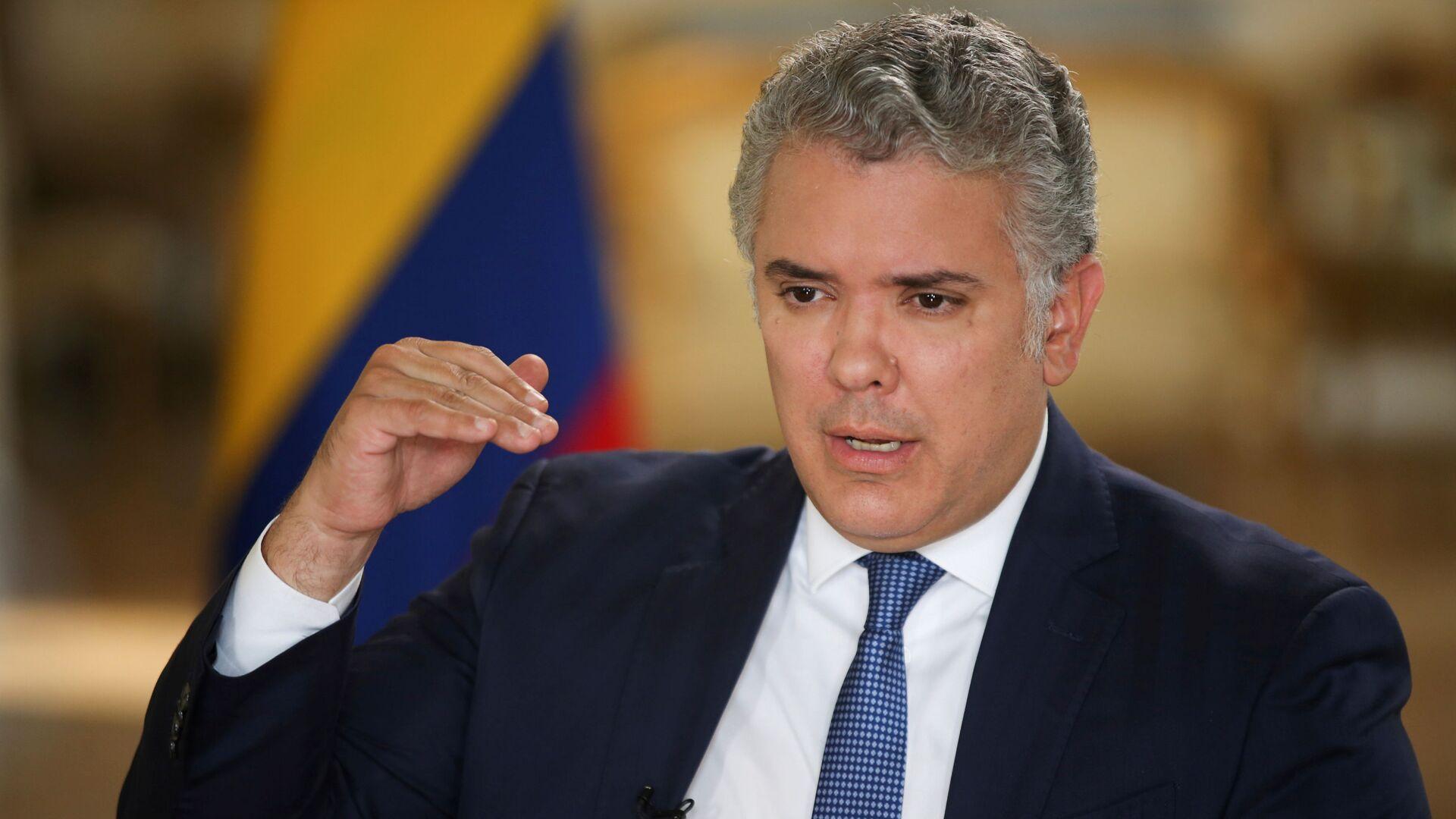 Iván Duque, presidente de Colombia - Sputnik Mundo, 1920, 02.02.2021