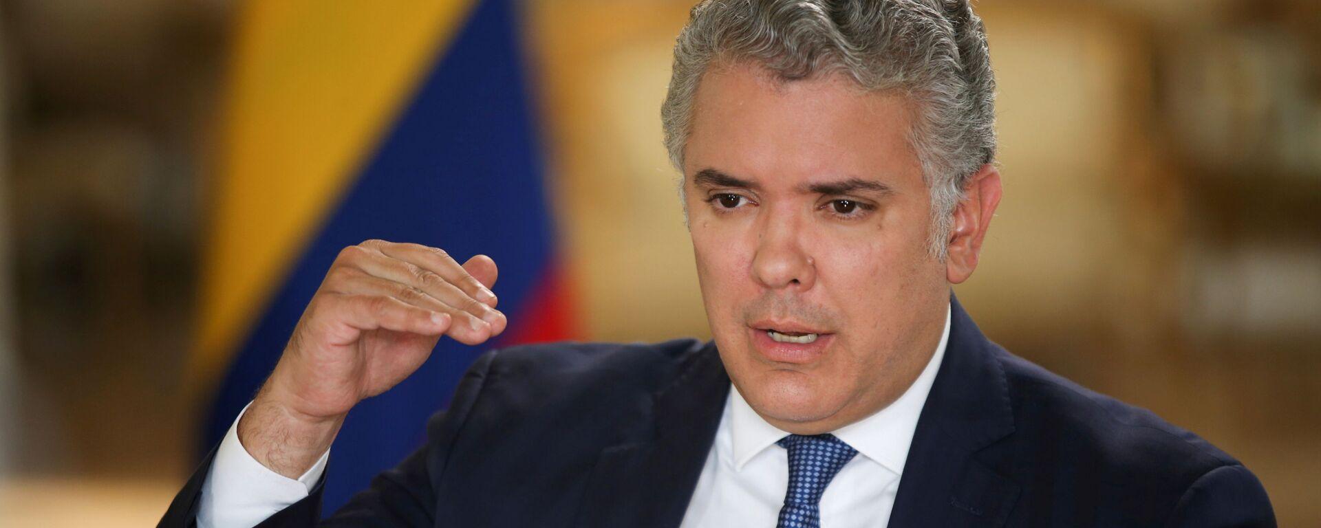 Iván Duque, presidente de Colombia - Sputnik Mundo, 1920, 25.08.2021