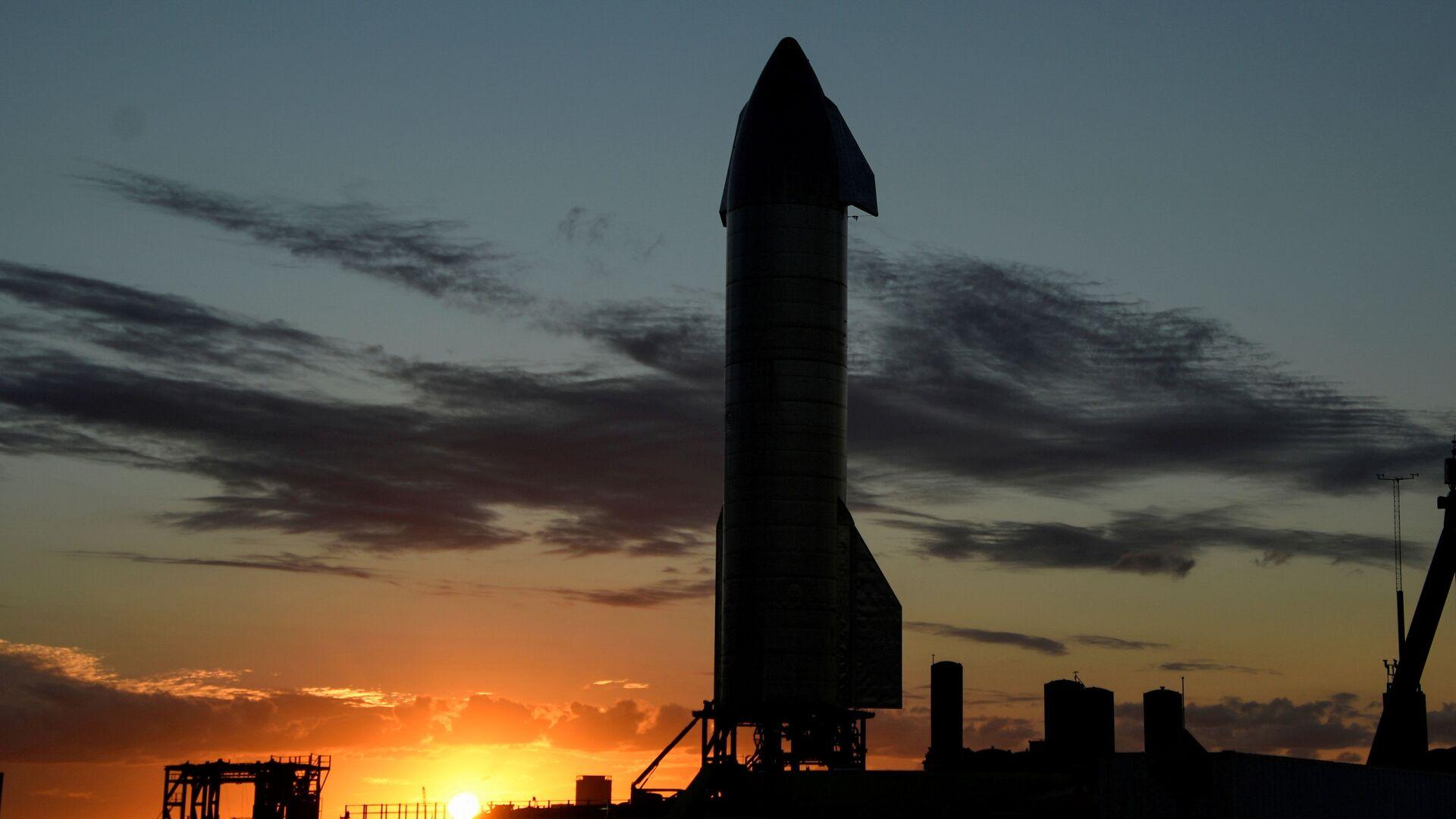Un cohete Starship de SpaceX - Sputnik Mundo, 1920, 12.02.2021