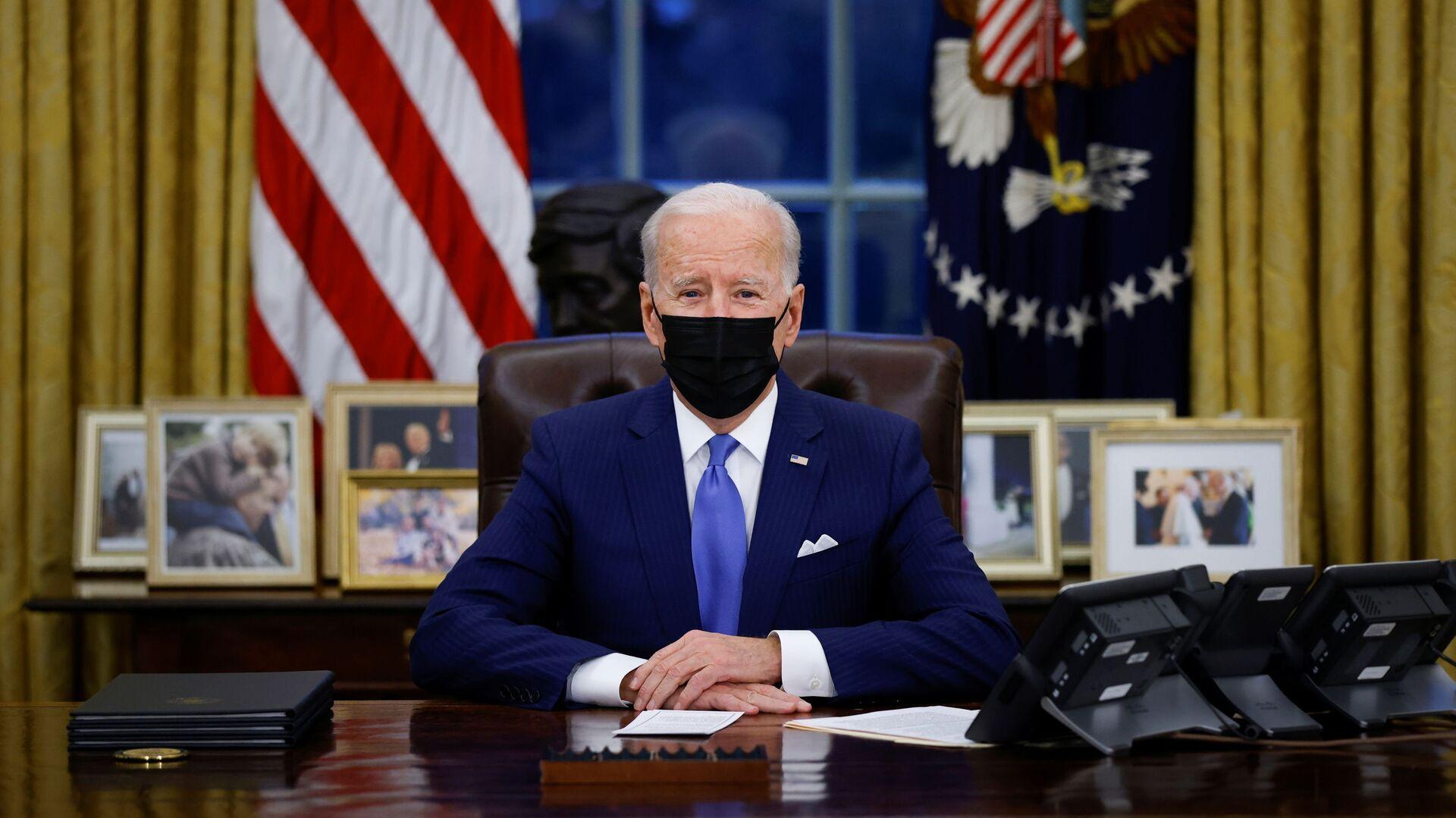 Joe Biden, presidente de EEUU - Sputnik Mundo, 1920, 02.02.2021