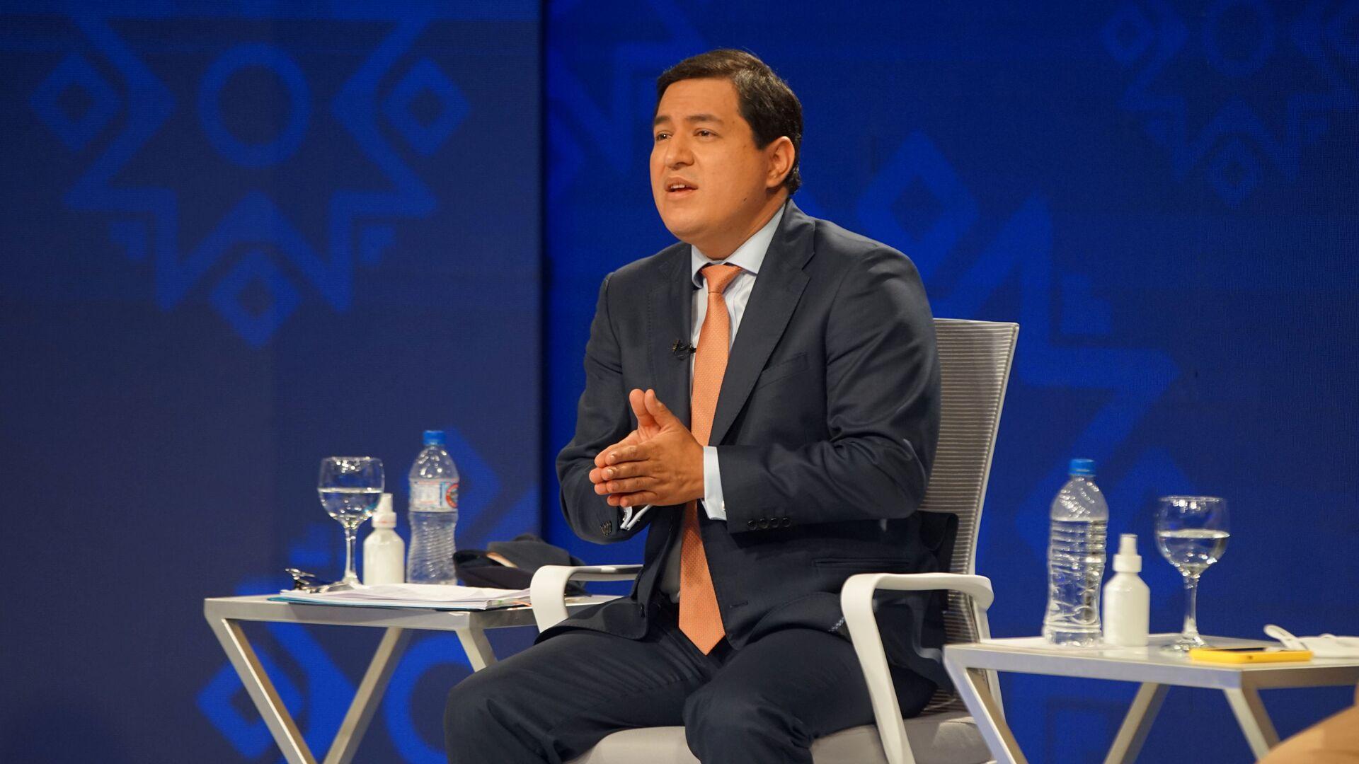Andrés Arauz, el candidato a presidente de Ecuador - Sputnik Mundo, 1920, 03.02.2021