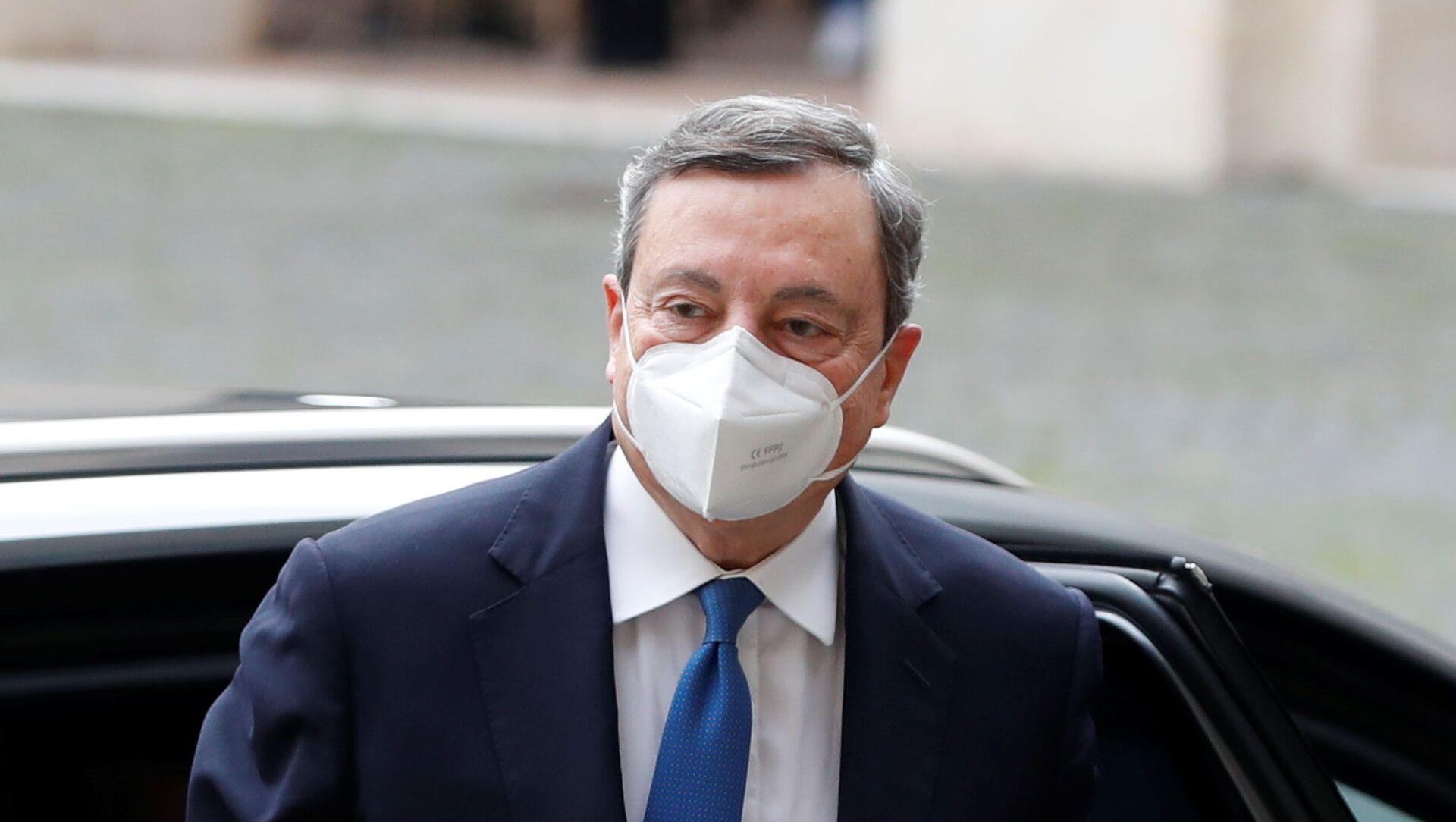 Mario Draghi, exjefe del Banco Central Europeo - Sputnik Mundo, 1920, 03.02.2021