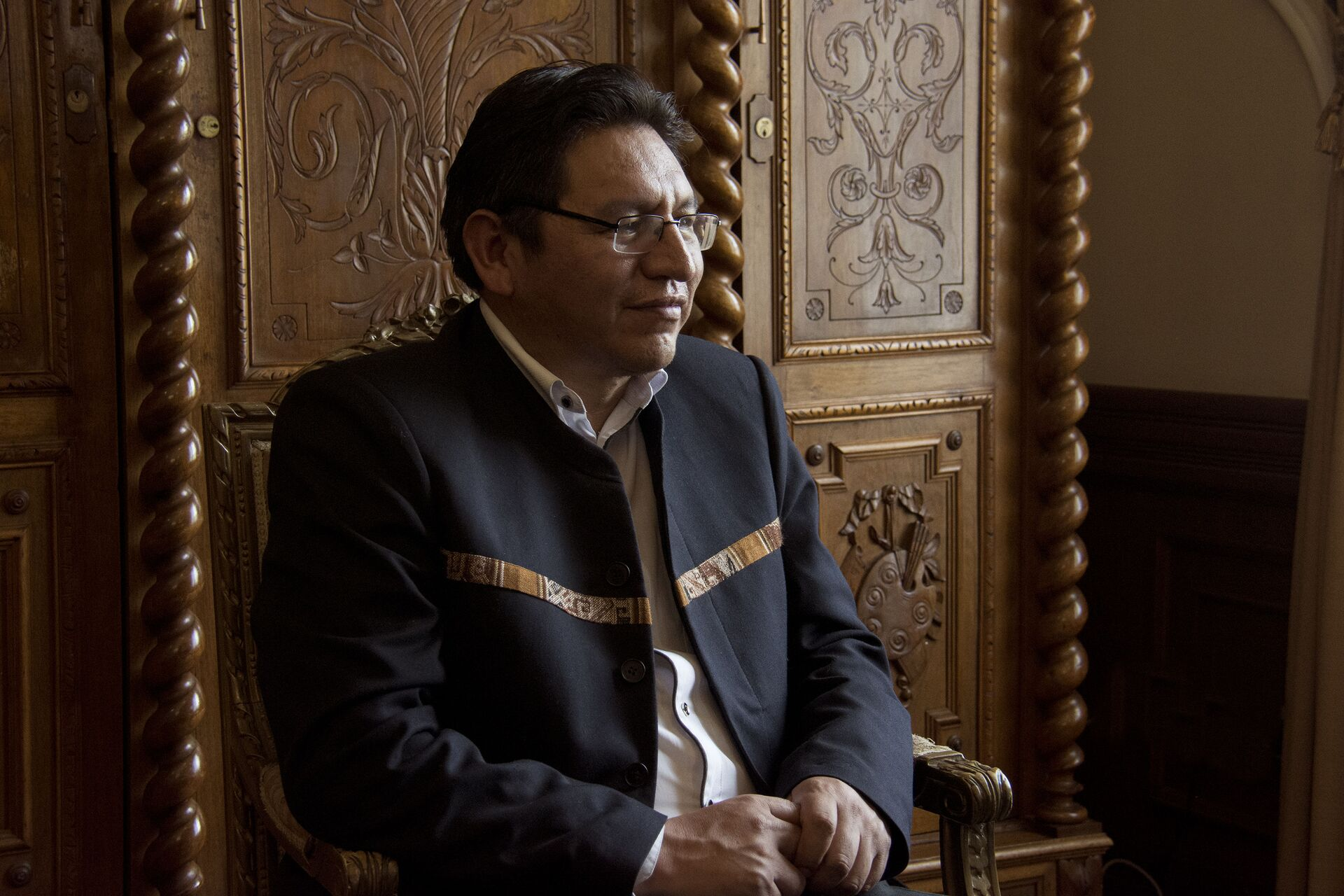 Viceministro de Relaciones Exteriores de Bolivia, Freddy Mamani - Sputnik Mundo, 1920, 11.02.2021