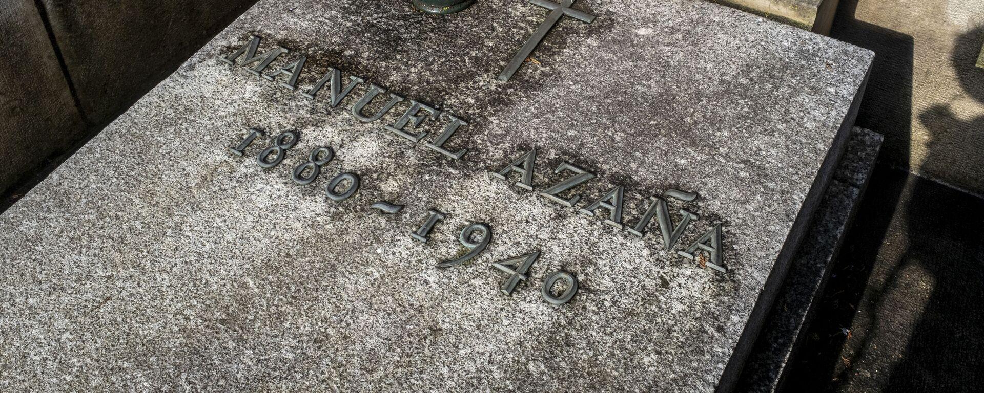 Tumba de Manuel Azaña, en la localidad francesa de Montauban - Sputnik Mundo, 1920, 07.02.2021