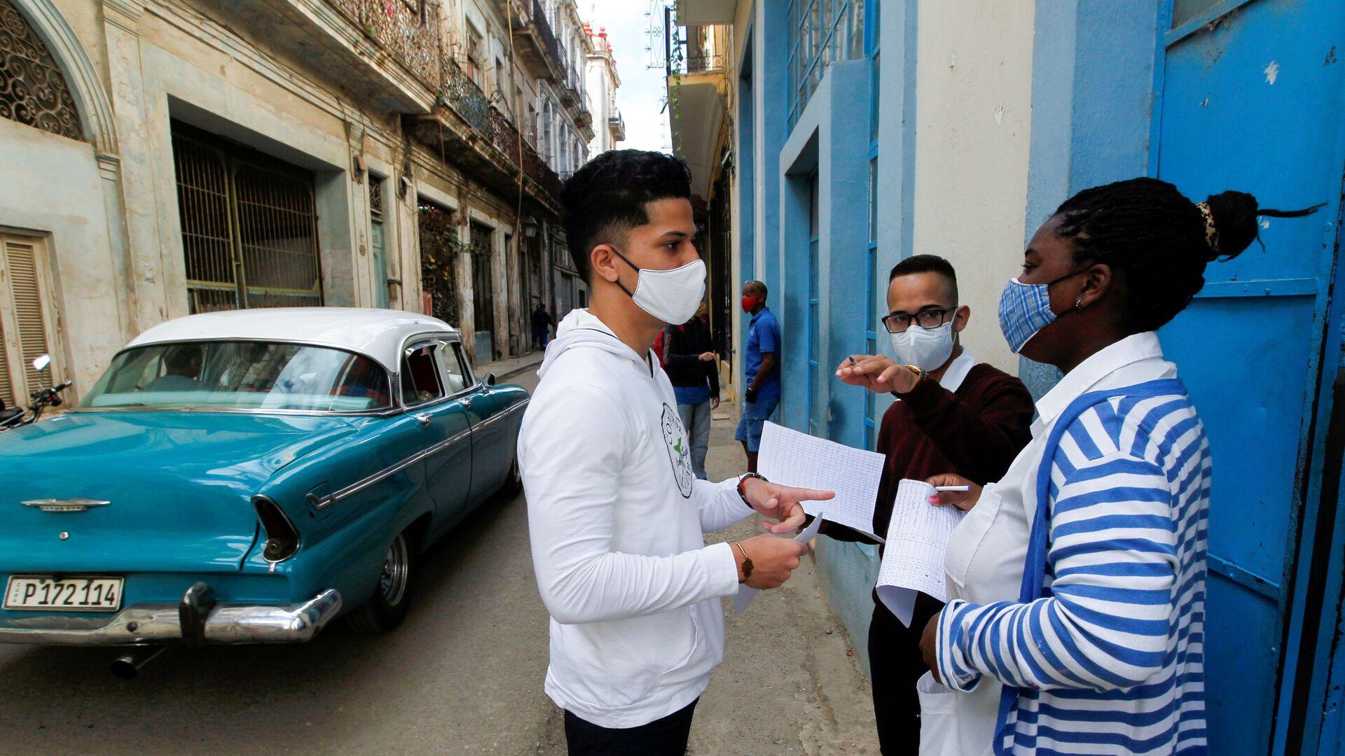 Coronavirus en La Habana - Sputnik Mundo, 1920, 30.09.2021