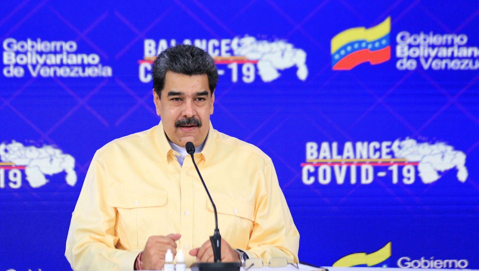 Nicolás Maduro, presidente de Venezuela - Sputnik Mundo, 1920, 07.02.2021