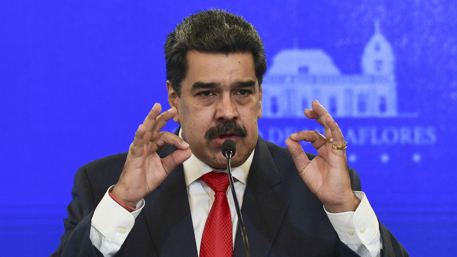 Nicolás Maduro, presidente de Venezuela - Sputnik Mundo, 1920, 29.03.2021