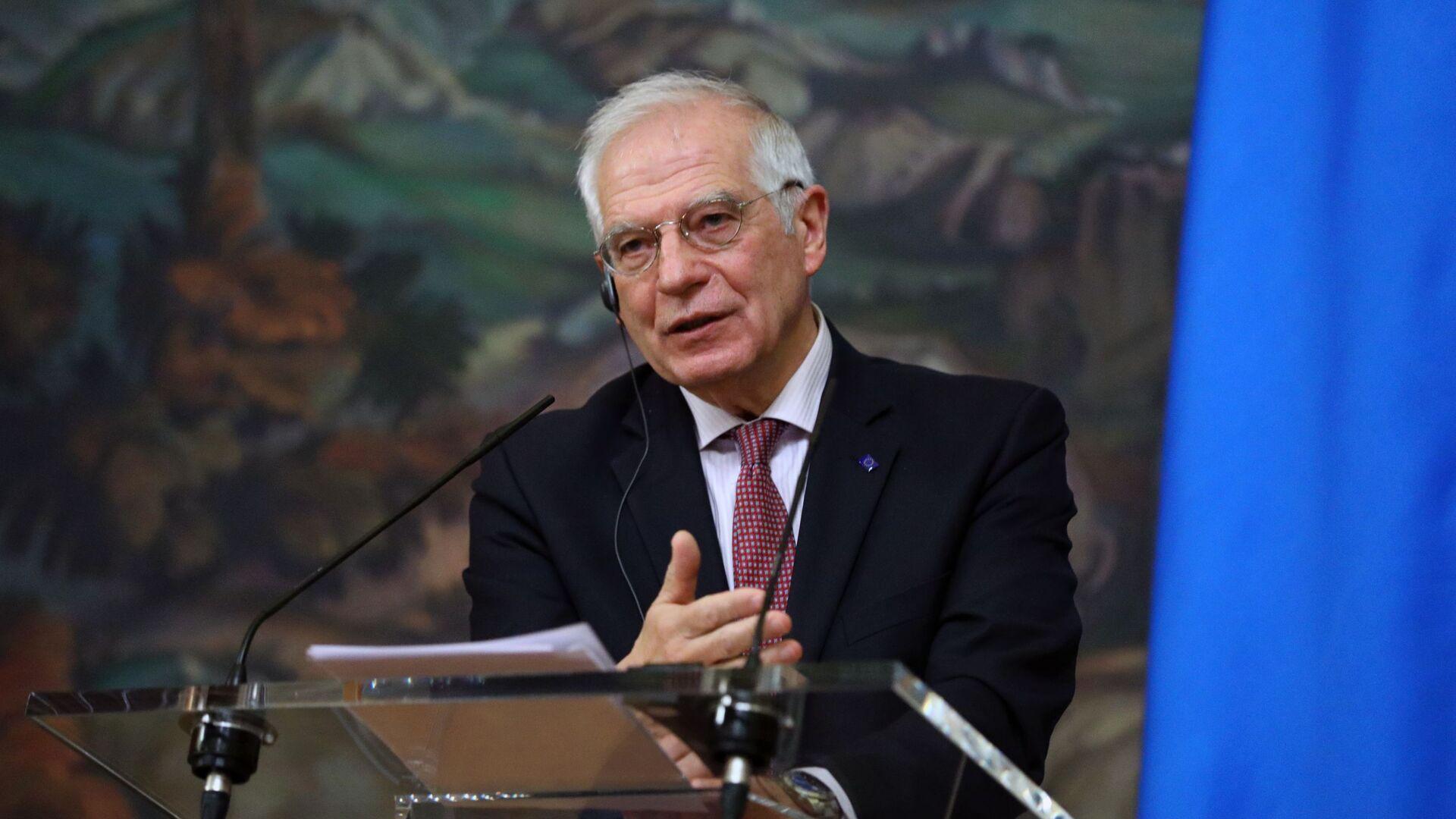 La visita del Josep Borrell a Moscú - Sputnik Mundo, 1920, 24.03.2021