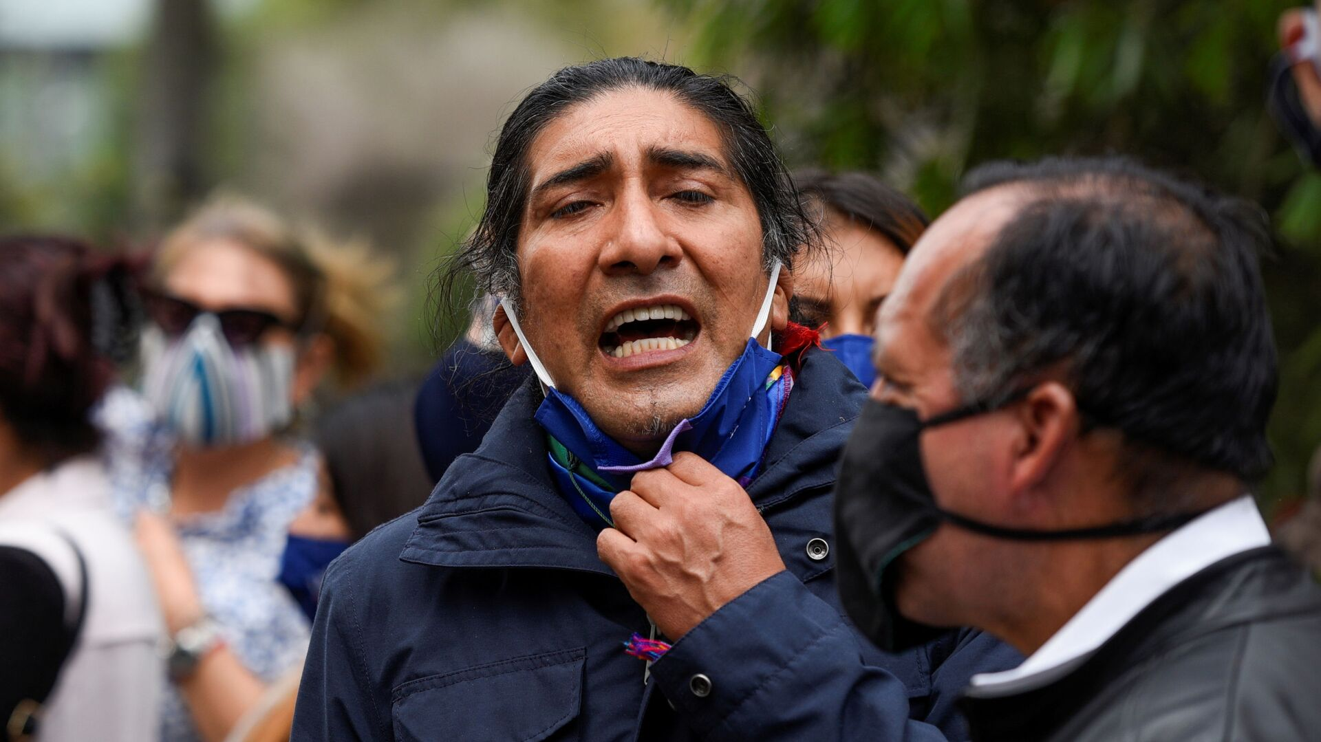 Yaku Pérez, el candidato indígena ecuatoriano - Sputnik Mundo, 1920, 18.02.2021