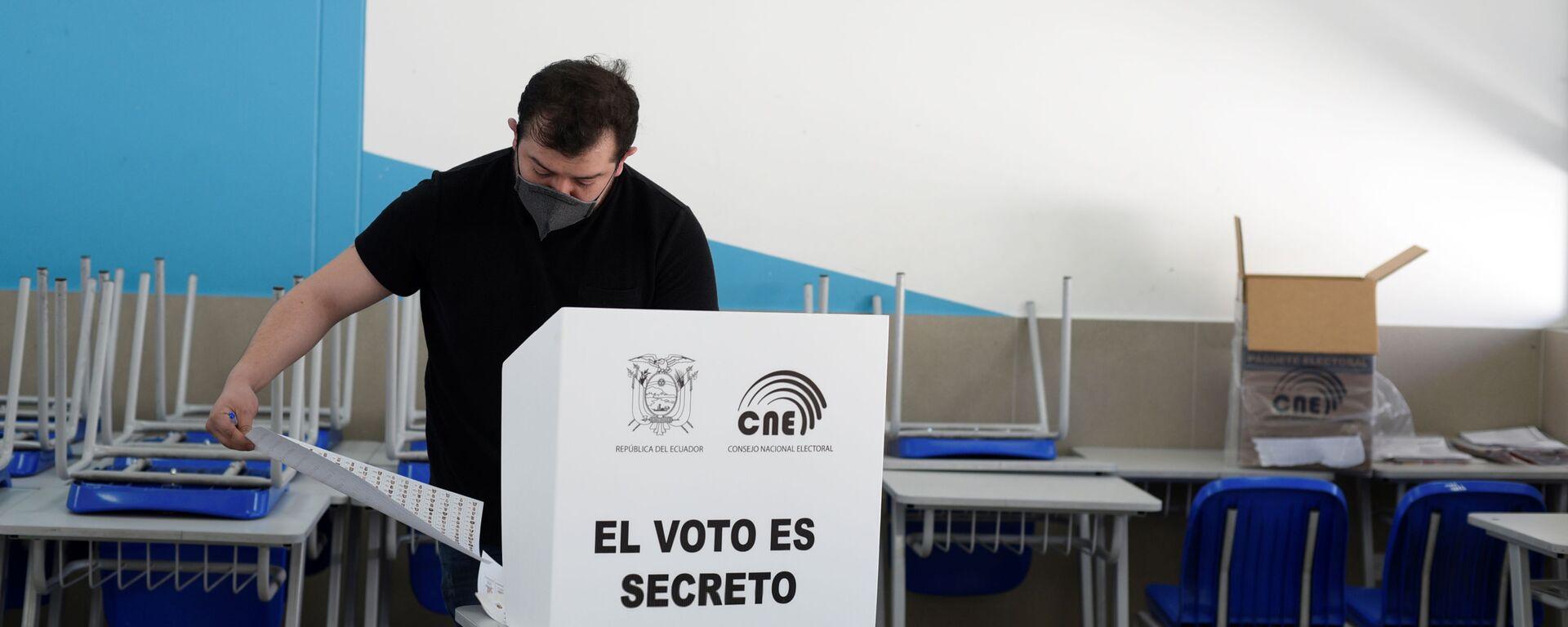 Elecciones presidenciales en Ecuador - Sputnik Mundo, 1920, 08.02.2021