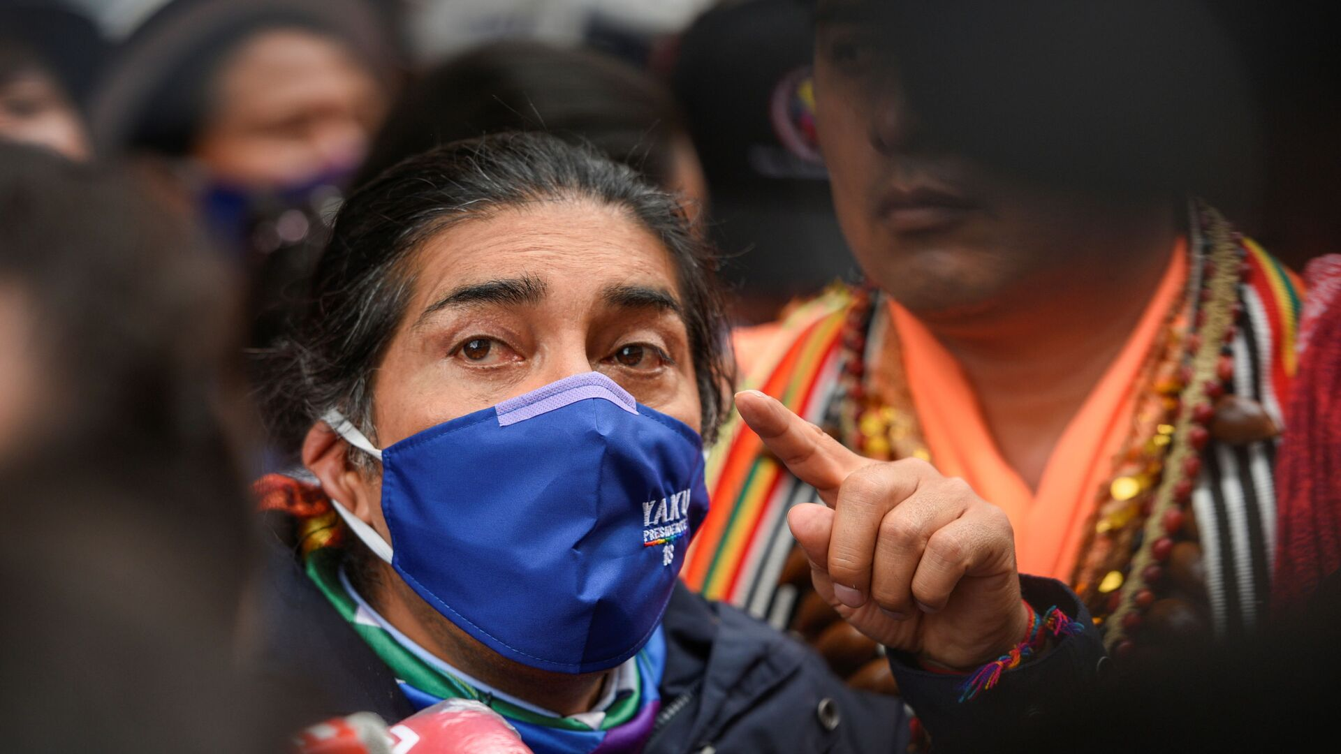 Yaku Pérez, el candidato indígena ecuatoriano - Sputnik Mundo, 1920, 12.02.2021