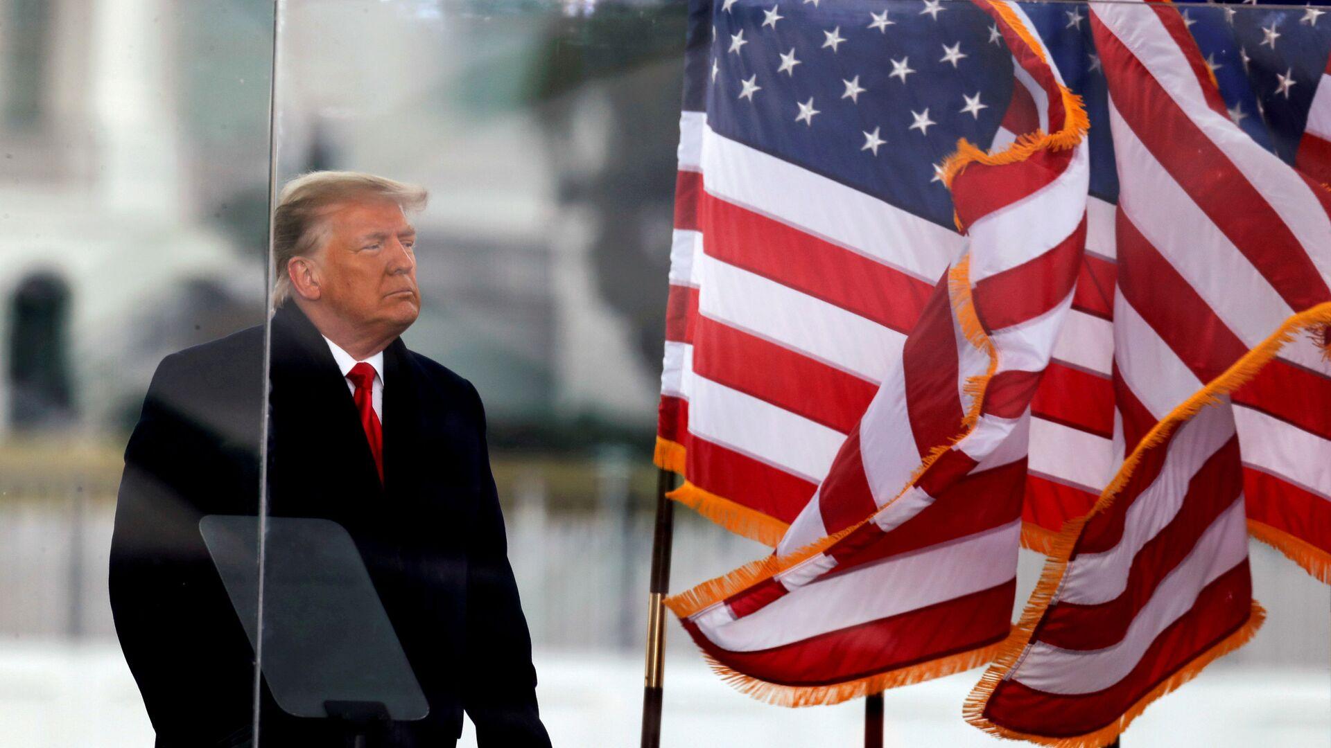 Donald Trump, expresidente de EEUU - Sputnik Mundo, 1920, 31.03.2021
