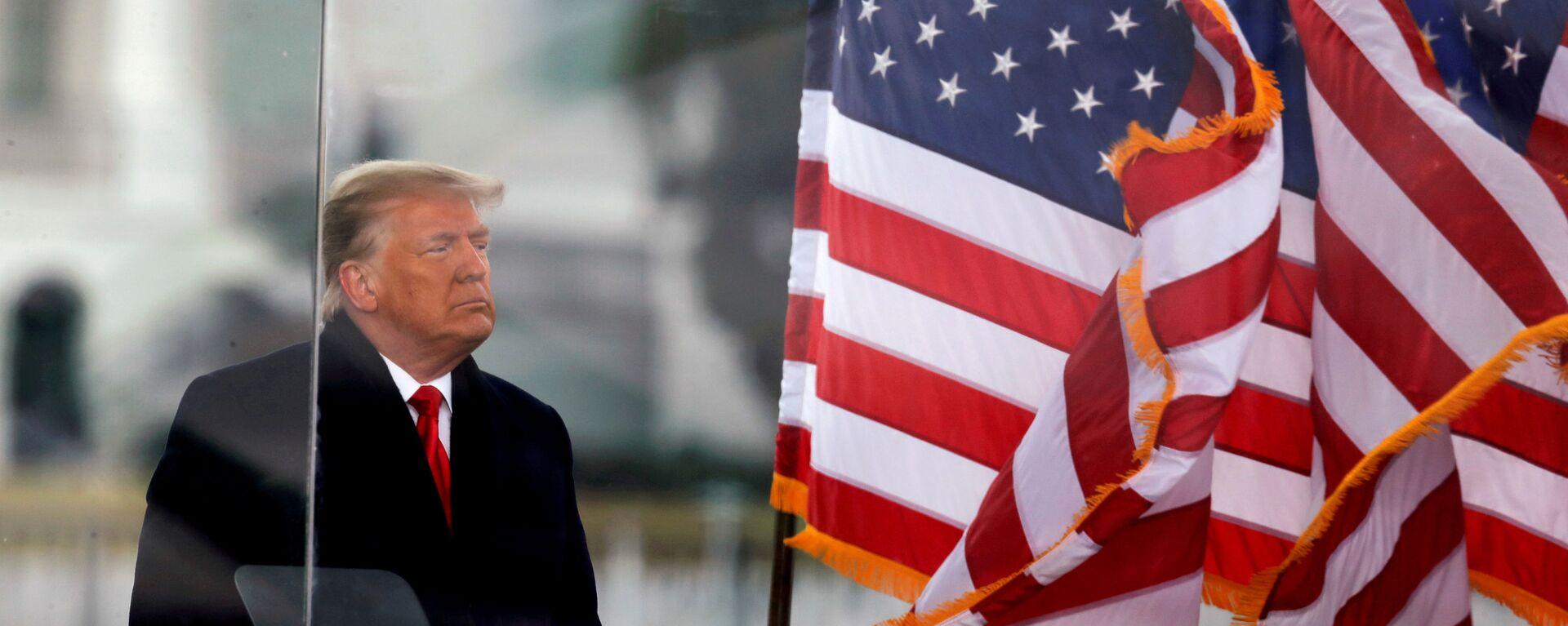 Donald Trump, expresidente de EEUU - Sputnik Mundo, 1920, 08.02.2021