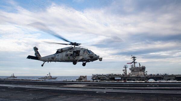 Las maniobras navales de EEUU en el mar de China Meridional - Sputnik Mundo