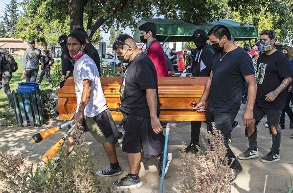 El funeral del malabarista Francisco Martínez. - Sputnik Mundo