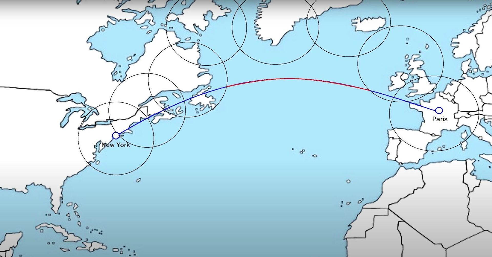 Los límites de vuelo impuestos por la normativa ETOPS en los años 1960 - Sputnik Mundo, 1920, 11.02.2021
