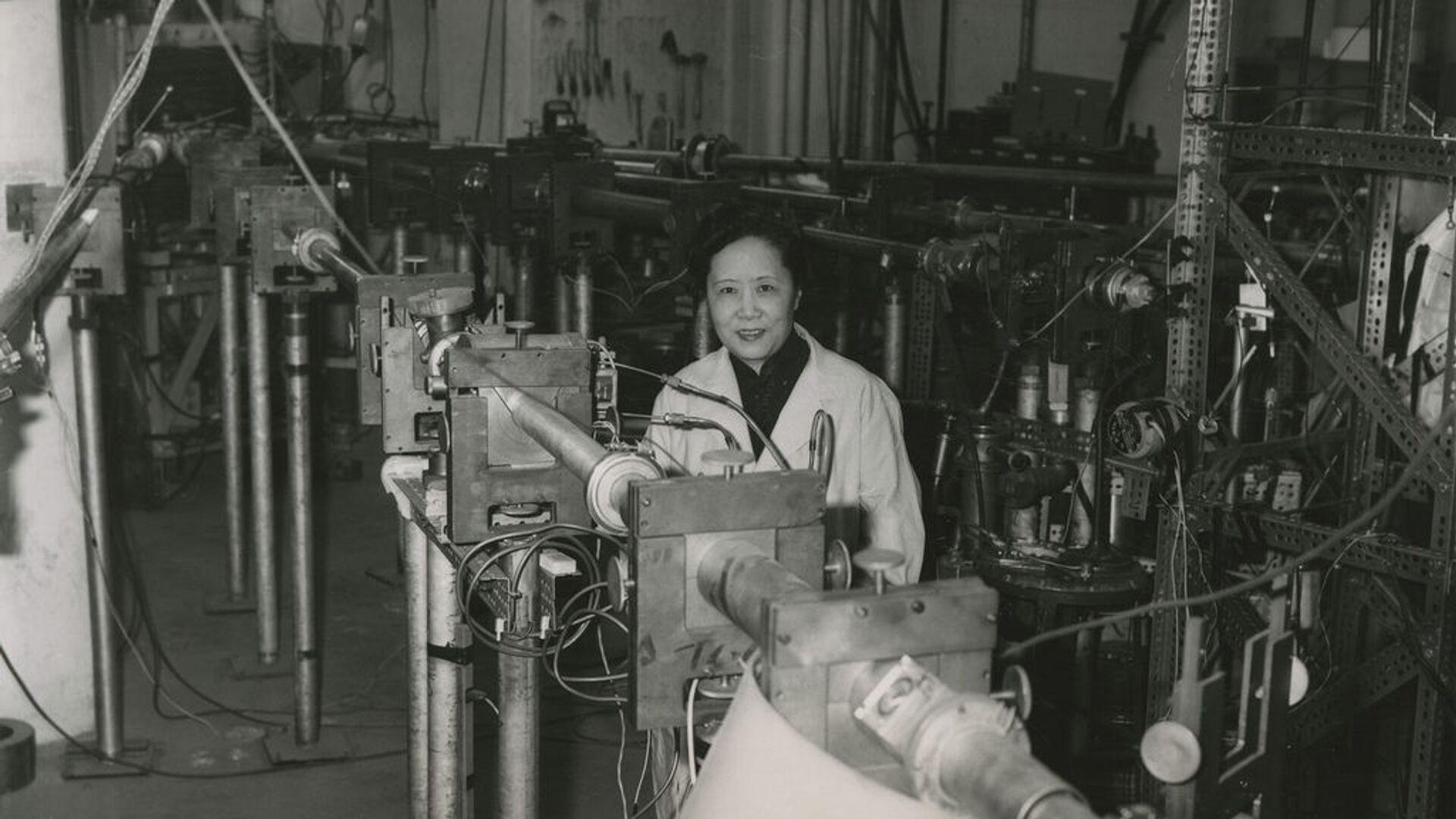 Chien-Shiung Wu en 1963, en Columbia University, Estados Unidos - Sputnik Mundo, 1920, 11.02.2021