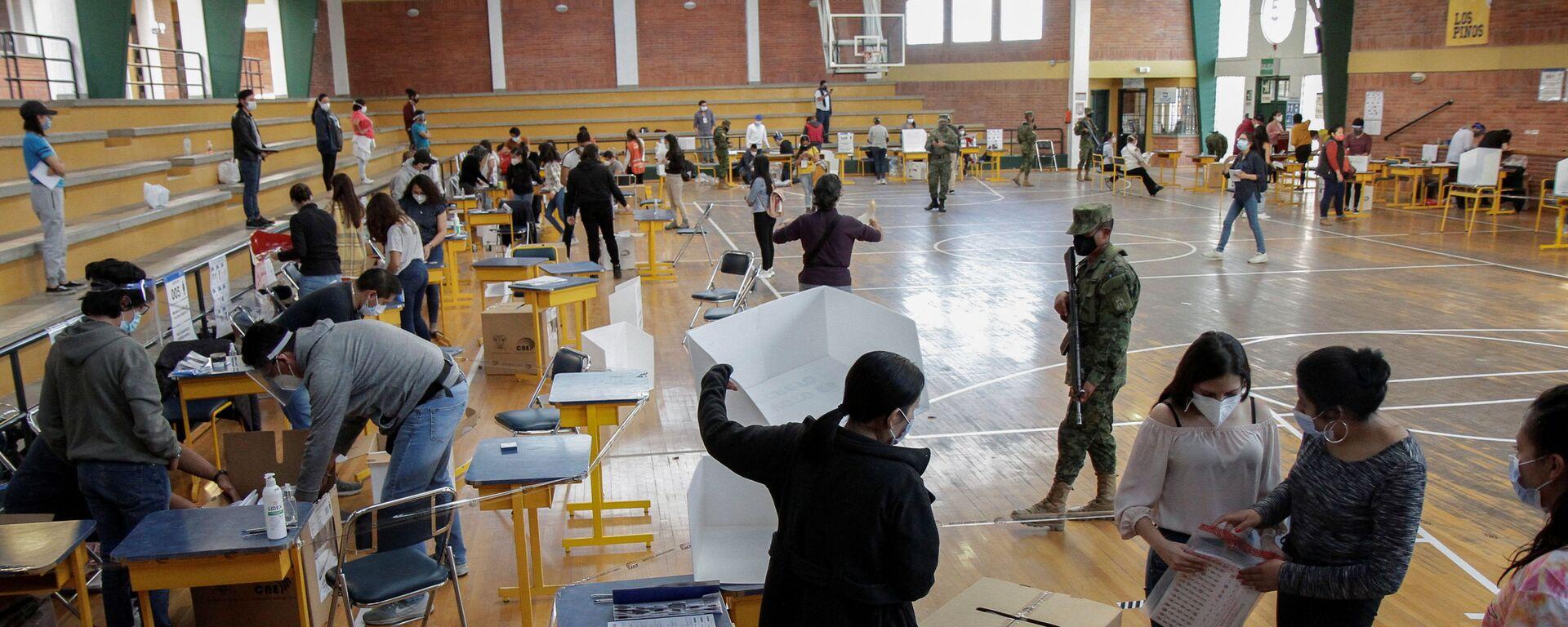 Elecciones presidenciales en Ecuador - Sputnik Mundo, 1920, 11.02.2021