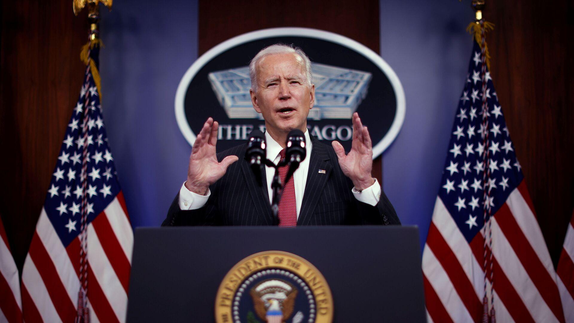 Joe Biden, presidente de EEUU - Sputnik Mundo, 1920, 08.03.2021