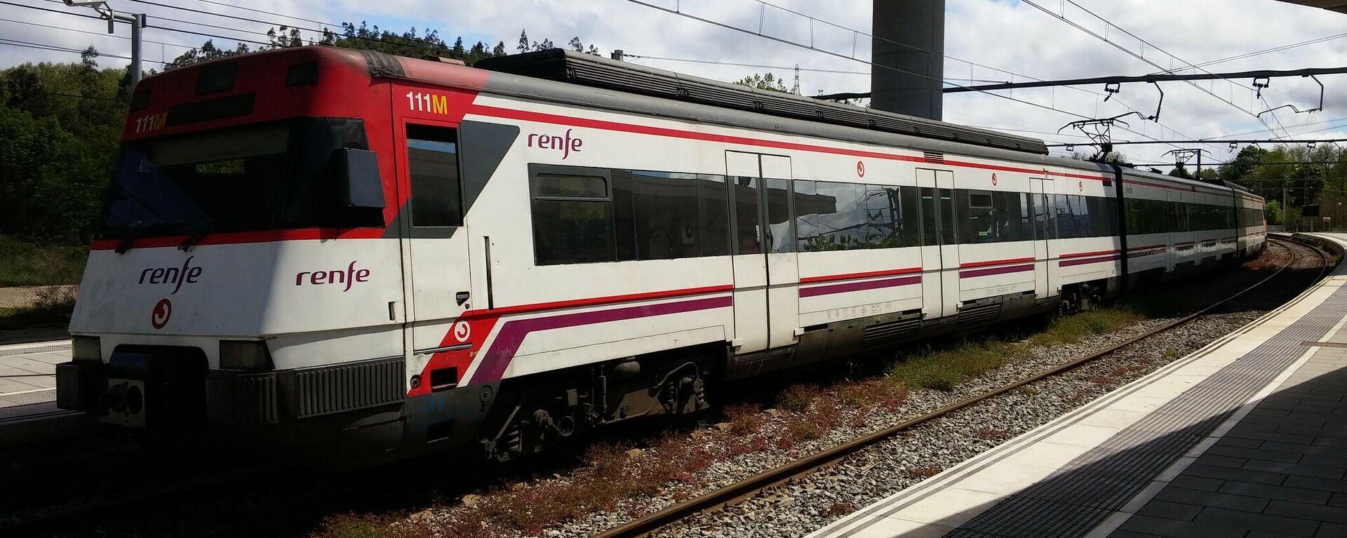 Tren de Cercanías de Renfe - Sputnik Mundo, 1920, 11.02.2021