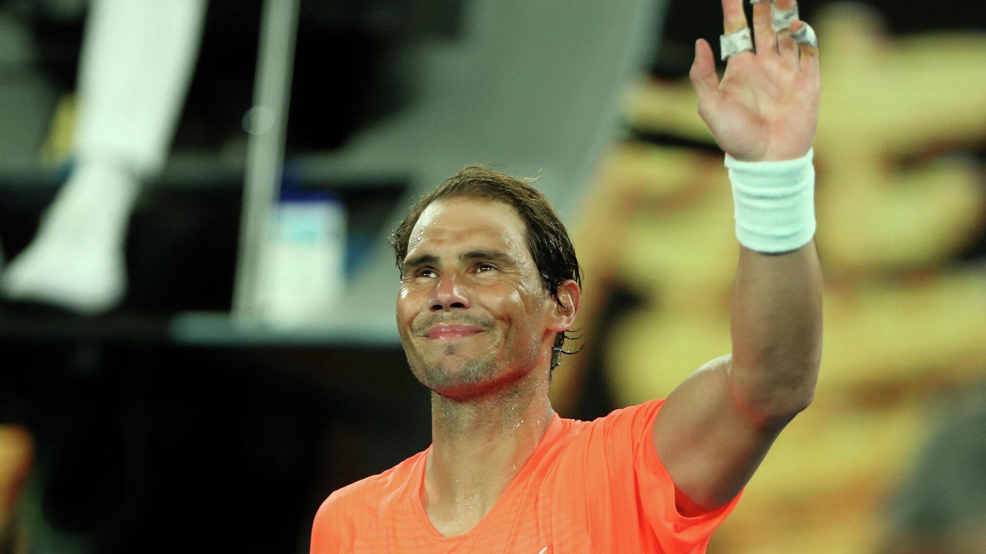 Rafa Nadal tras vencer a Michel Mmoh en el Open de Australia - Sputnik Mundo, 1920, 12.02.2021
