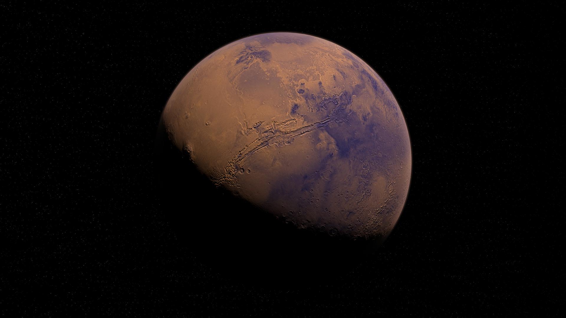 Marte (imagen referencial) - Sputnik Mundo, 1920, 17.03.2021